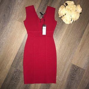 BCBG Red Makenna Dress NWT